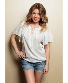 roumanian peasant blouse , roumanian folk fashion shop www. Folk Fashion, Peasant Blouse, Short Sleeves, Tunic Tops, V Neck, My Style, How To Wear, White Blouses, Shopping