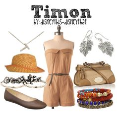 """""""Timon"""" by disneythis-disneythat on Polyvore"""