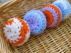 Ravelry: Nylon Net Scrubbies pattern by Melanie Larsen