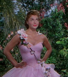 Helen Rose - Costumes - Robe Guirlande de Fleurs - Esther Williams - Désir d'Amour - 1953
