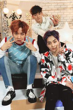 Baekhyun, Chen, & Xiumin.