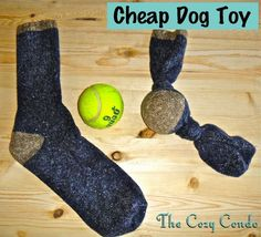 good idea...i have a cute hello kitty sock i lost the mate to and a tennis ball!