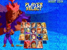 Street Fighter Zero 2 Alpha [Arcade].