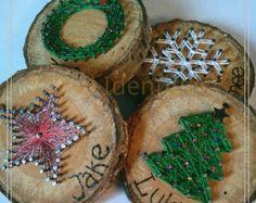 String Art Christmas Tree di LovinglyCreative su Etsy
