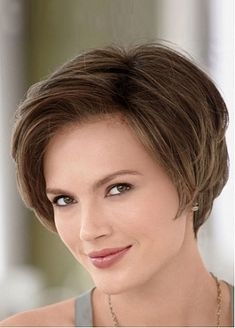 Beautiful Side-Swept Bangs Flattering Bob Style Human Hair Wig by Dressilyme.com