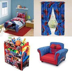 spiderman room | Boy bedroom design, Superhero room decor ...