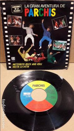 PARCHIS. METEORITO ROCK AND ROLL. SINGLE / BELTER - 1883 / MBC. **/***