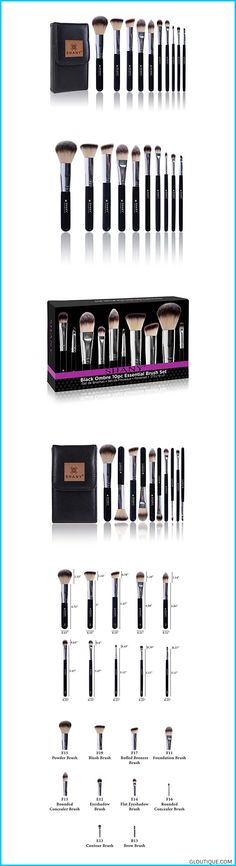 This set includes 10 synthetic cosmetics brushes with an elegant travel makeup pouch Includes powder, blush, foundation, bronzer, Eye shadow, conceale#fashionSHANY Ombre Pro 10 Piece Essential Brush Set with Travel Pouch, Black #SHANY #Ombre #Pro #10 #Piece #Essential #Brush #Set #with #Travel #Pouch, #Black #Reviews