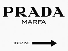 Prada Marfa sign from Gossip Girl[14] (Top Design Girls)
