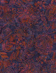 Embroidery Batik - Our Fabrics | TIMELESS TREASURES