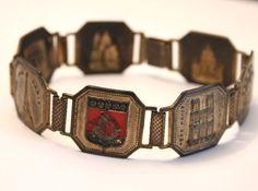 Vintage Paris bracelet. Souvenir. French by chicvintageboutique, $45.00