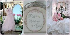 """We are announcing the fabulous vendors for our June 5th-7th 2015 show, beginning with a few new dealers...next up is """"Pink Vintage Girl"""", Welcome!"""