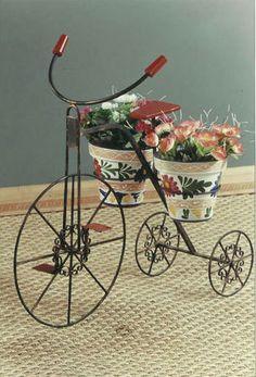 #Jarcinera bicicleta de #forja ¡Clica para descubrirla!