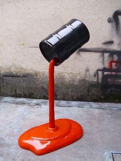HELDER BATISTA http://www.widewalls.ch/artist/helder-batista/ #contemporary #art #installation #pop #art #sculpture