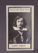 ALBERT LAMBERT Actor France 1908 FELIX POTIN CARD