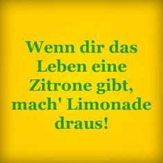 Aber noch Zucker an die Limonade machen ;-)