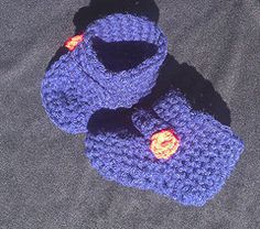 $5 Crochet Buckle Booties