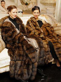 Russian Sable Fur Coats