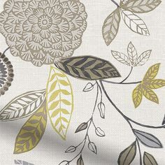The beauty about creating the Harlequin Additions range is that we get to deliver well-known designs with our own special touches. Like this Alina Mustard roman blind for example.