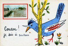 soullans carte postale