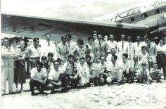 1957- Jequié - Rio nas asas da Real Aerovias - 1957 - . A foto de hoje me foi enviada pelo Telmo Carvalho a quem agradeço a gentileza. Mostra seu vôo para o Rio de Janeiro em 19/01/1957. ...