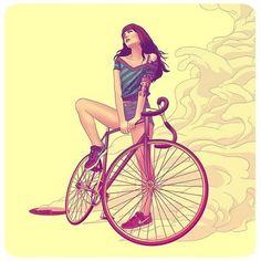 #illustration #drawing #art #comics #wacom #wacomtablet #ilustracion #painting #instaart #artwork #velo #bicycle #bodylanguage #velocity #citybike #bikelife #colorful #coloryourlife #вело #велосипед #citybike #passions #cycle