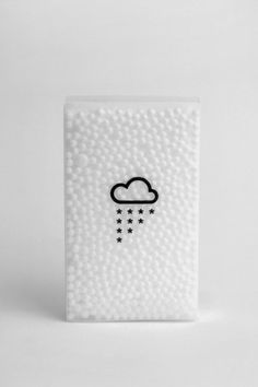 Packaging we like / Transparent / Icon / Snow / White / at inspiration