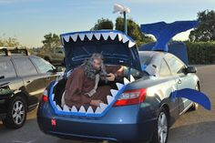 Trunk or treat whale idea