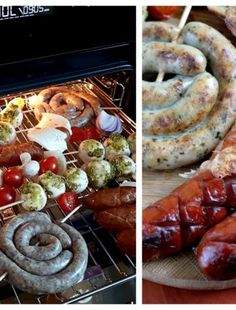 Impreza, Mozzarella, Feta, Shrimp, Sausage, Crickets, Recipies, Sausages, Chinese Sausage