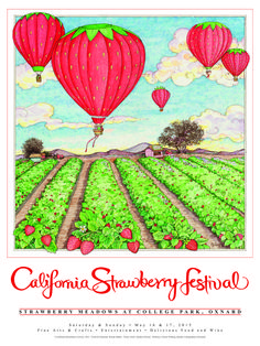 """The belle of all things """"berrylicious,"""" the California Strawberry Festival in Oxnard celebrates 32 years of serving up all day fun with delicious eats, entertainment and fine arts. Visit www.xplorela.com for more info."""