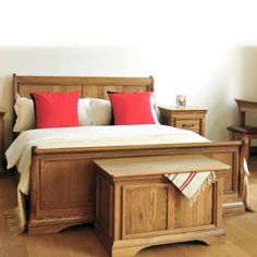 Cobh Wooden Electric Adjustable Bed, is a Classic Sleigh Style Rustic Toned Walnut Masterpiece