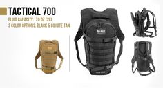 Geigerrig Tactical Hydration Pack 700. $170.