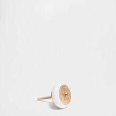 METAL BLOCK KNOB (SET OF 2) - Knobs - Decoration | Zara Home United Kingdom
