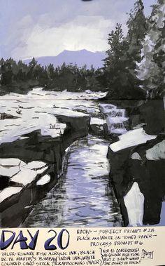 Hudson Valley Sketches - : Holidays in Ink Week 5