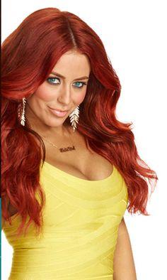 <3 Aubrey O'Day in red hair! <3
