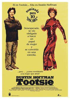 Cartel Español de Tootsie
