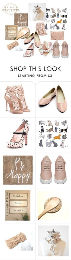 """You are Beautiful"" by valeriebaberdesigns ❤ liked on Polyvore featuring RED Valentino, Belle Maison, Filling Pieces, Hostess and Elena Ghisellini"