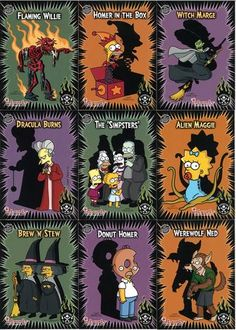 The Simpsons -Treehouse of Horror Simpsons Funny, Simpsons Art, Horror House, Mein Liebling, Favorite Tv Shows, Simpsons Treehouse Of Horror, Simpsons Tattoo, Simpsons Halloween, Futurama