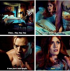 Clary et jace Shadowhunters Series, Shadowhunters The Mortal Instruments, Malec, Clace Fanart, Clary Et Jace, Shadowhunter Academy, Dominic Sherwood, Cassandra Clare Books, Fangirl
