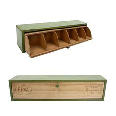 Mini cajonera 6 compartimentos VINTAGE EPAL (Estanterías y cajoneras) - Sillas de diseño, mesas de diseño, muebles de diseño, Modern Classics, Contemporary Designs...