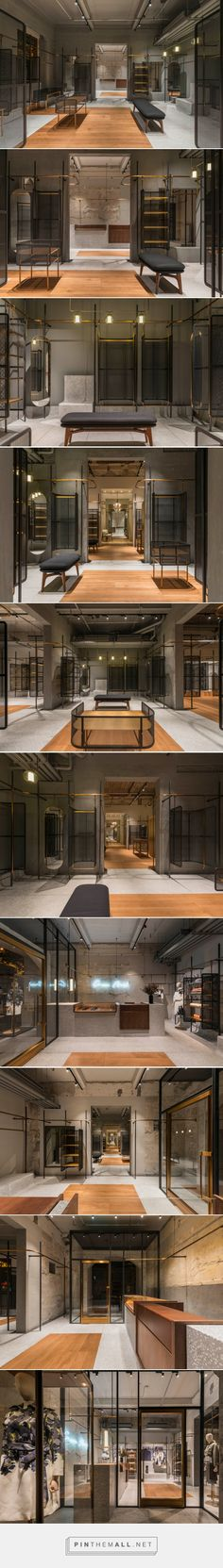 neri & hu outfits flagship store for comme moi in shanghai - created via http://pinthemall.net