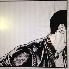 #ironman #process #inks #photoshop #marvel #comics #tonystark #davidmarquez