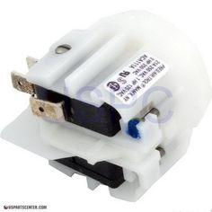Air Switch-Alt, SPDT, Center Spout
