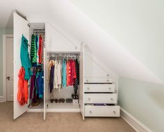 "Karen Ridge of Closets By Design PA, Exton, PA is a finalist in the 2015 Top Shelf Design Awards competition with her project ""Closet Improvised"" entered in the Closet: Laminate Under 18 linear feet category."