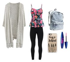 """""""Sophomore"""" by erin-gumfory on Polyvore featuring Peace of Cloth, H&M and Casetify"""
