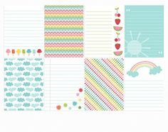 Sweet Summer Project Life cards and Tons of FREE PRINTABLES   MissTiina.com {Blog}
