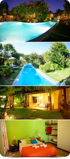 Brasil Tropical Village Praia de Pipa Localizado a 500 m do centro da cidade e da Praia do Amor, o hotel oferece piscina, sauna, hidromassagem, Wi-Fi grátis, estacionamento privativo, restaurante e mais