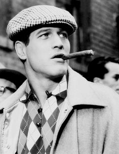 Paul Newman in Somebody Up There Likes Me  (Robert Wise, 1956), the story of boxer Rocky GrazianoThis is the film that made Newman a star
