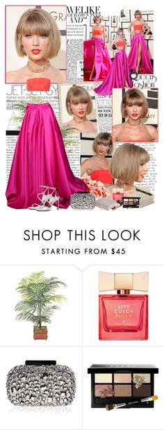 """""""Taylor Swift - 2016 Grammy Awards in Los Angeles"""" by iced ❤ liked on Polyvore featuring Gwyneth Shoes, Kate Spade, Lipsy, Bobbi Brown Cosmetics and Ultimo"""