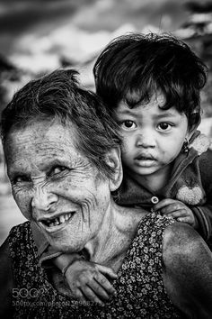 Grandma and Child by DanHac